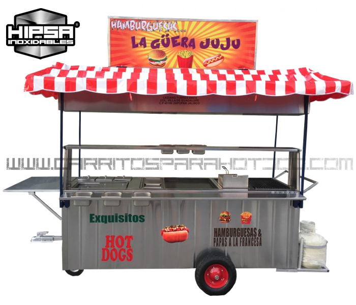 Venta De Carritos Para Hot Dog En Monterrey
